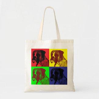 Boxer Dog Pop Art Style