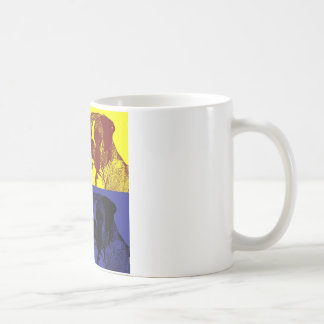 Boxer Dog Pop Art Style Coffee Mug