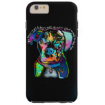 Boxer Dog Pop Art Style for Dog Lovers Tough iPhone 6 Plus Case