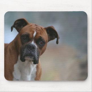 Boxer dog Portrait Mouse Pad