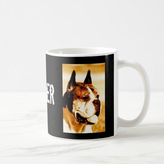Boxer Dog Portrait mug