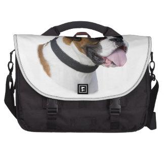 Boxer dog portrait photo commuter bag