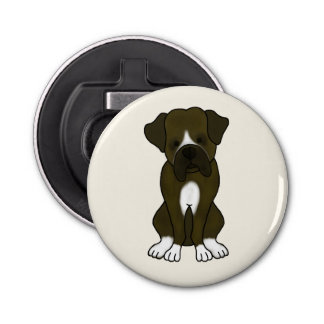 Boxer Dog Puppy Bottle Opener