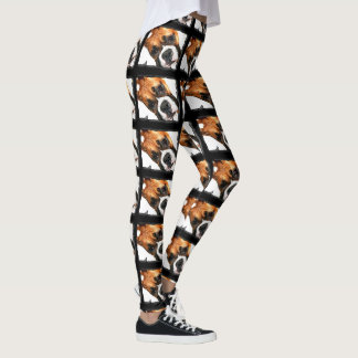Boxer dog sport leggings