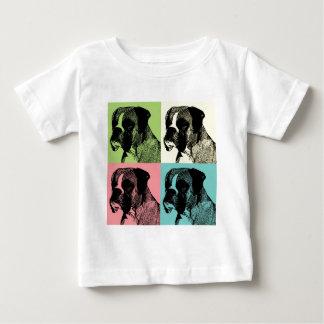 Boxer Dog Stamper Pop Art T-shirts
