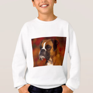 Boxer dog sweatshirt