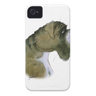 boxer dog, tony fernandes iPhone 4 case