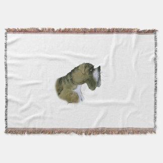 boxer dog, tony fernandes throw blanket