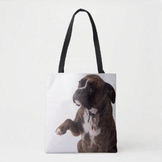 Boxer dog Tote Bag