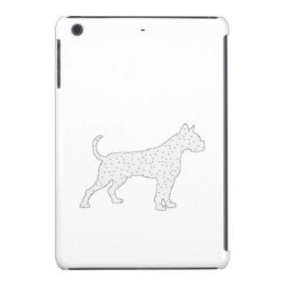 Boxer Dog Winter Art iPad Mini Retina Cases