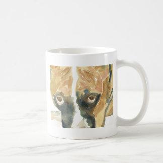 Boxer Doggie Buddy Basic White Mug