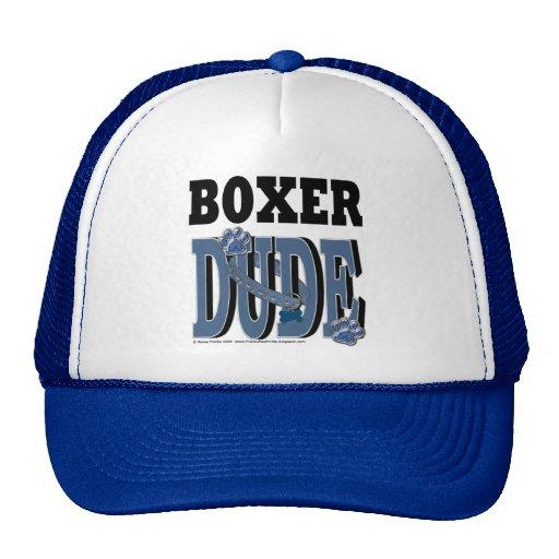 Boxer DUDE Hats