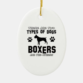 BOXER gift items Christmas Ornament