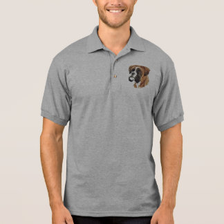 Boxer Head Polo Shirt