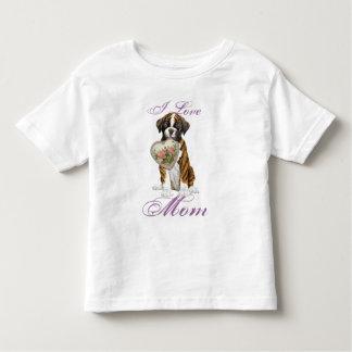 Boxer Heart Mom T-shirts