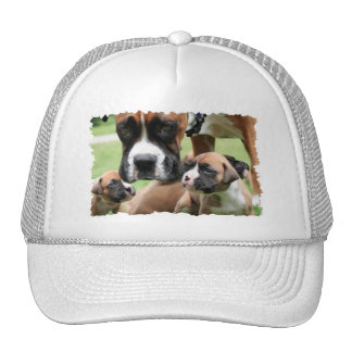 Boxer - Helicopter Mom Trucker Hat