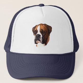 Boxer in Portrait Trucker Hat