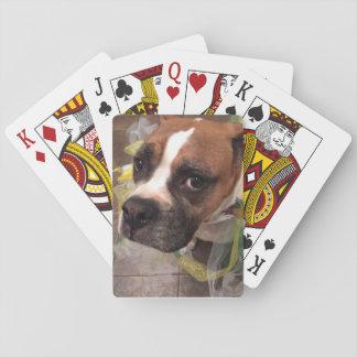 Boxer Joker Playing Cards
