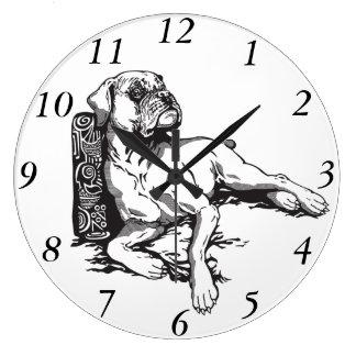 boxer large clock