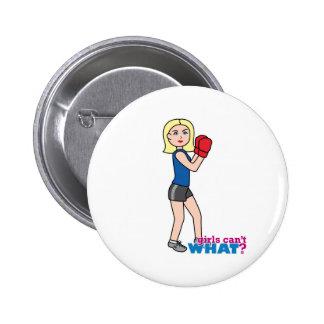 Boxer - Light Blonde Button