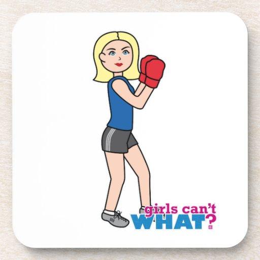 Boxer - Light/Blonde Beverage Coaster