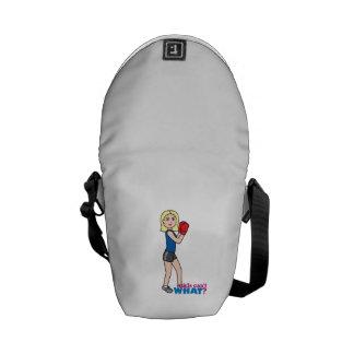 Boxer - Light Blonde Messenger Bags