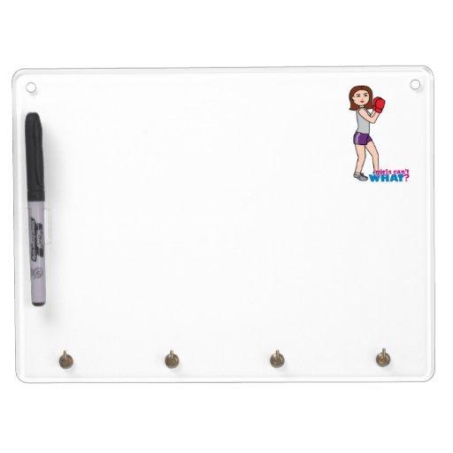Boxer - Light/Brunette Dry-Erase Whiteboard