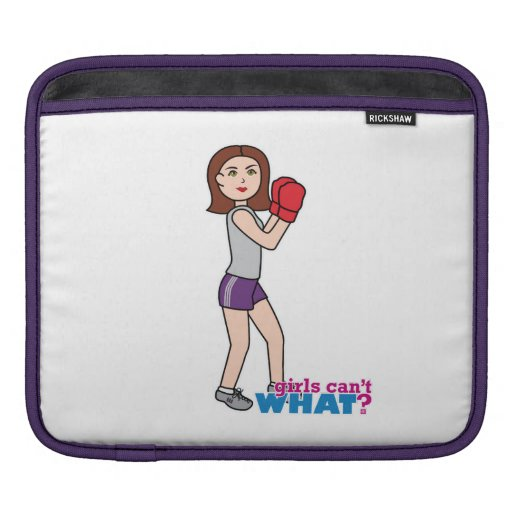 Boxer - Light/Brunette iPad Sleeve
