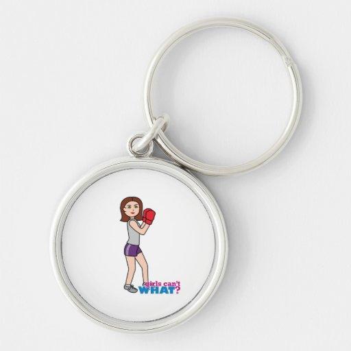 Boxer - Light/Brunette Keychains