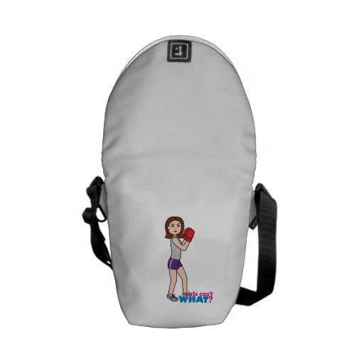 Boxer - Light/Brunette Messenger Bags