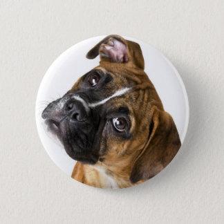 Boxer Love 6 Cm Round Badge
