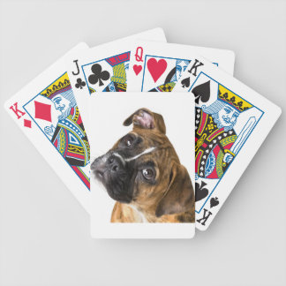 Boxer Love Bicycle Playing Cards