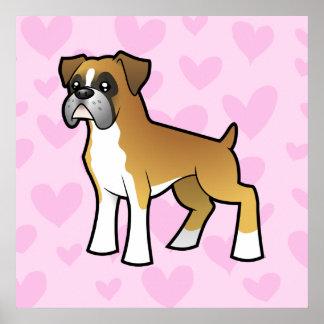 Boxer Love Poster