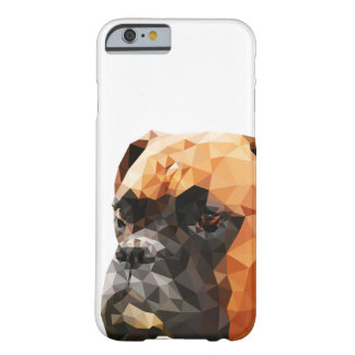 Boxer Low Poly Art Barely There iPhone 6 Case
