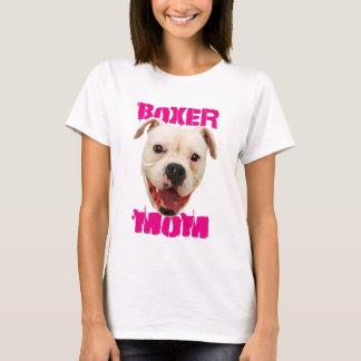 Boxer Mom dog shirt