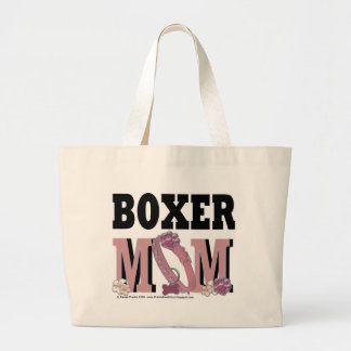 Boxer MOM Large Tote Bag