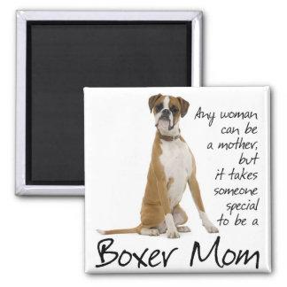 Boxer Mom Magnet