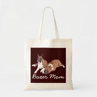 Boxer Mom Tote Bag