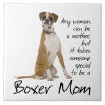 Boxer Mum Ceramic Tile