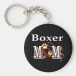 boxer mum Keychain