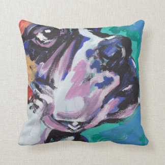 Boxer Pop Art Pillow