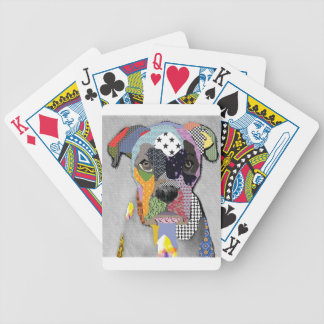 Boxer Portrait Bicycle Playing Cards