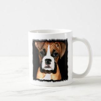 Boxer pup mug