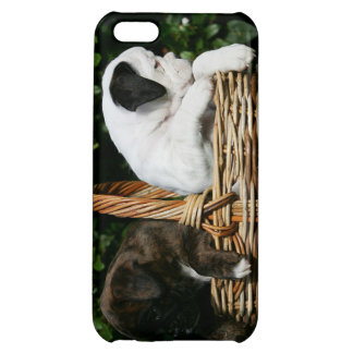 Boxer Puppies in Basket iPhone 5C Cover