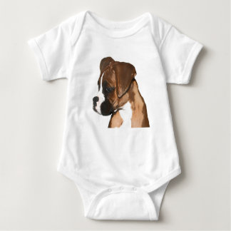 Boxer puppy baby shirt