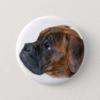 Boxer puppy button