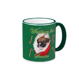 Boxer puppy Christmas mug