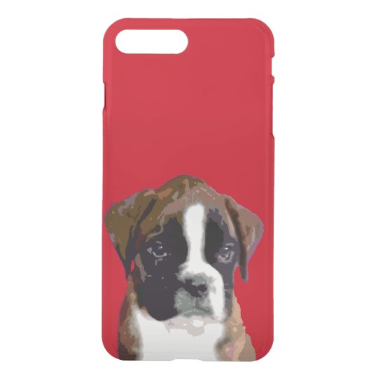 Boxer puppy dog iPhone 7 plus case