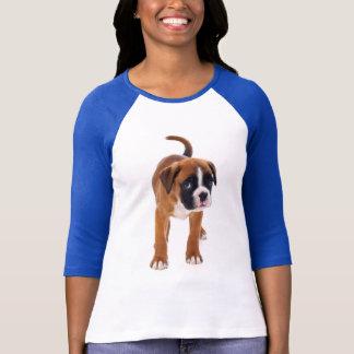 Boxer Puppy Dog Love Womens Tee Shirt
