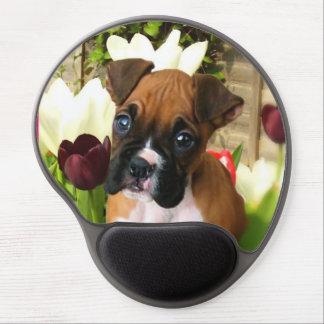 Boxer puppy gel mousepad gel mouse mat